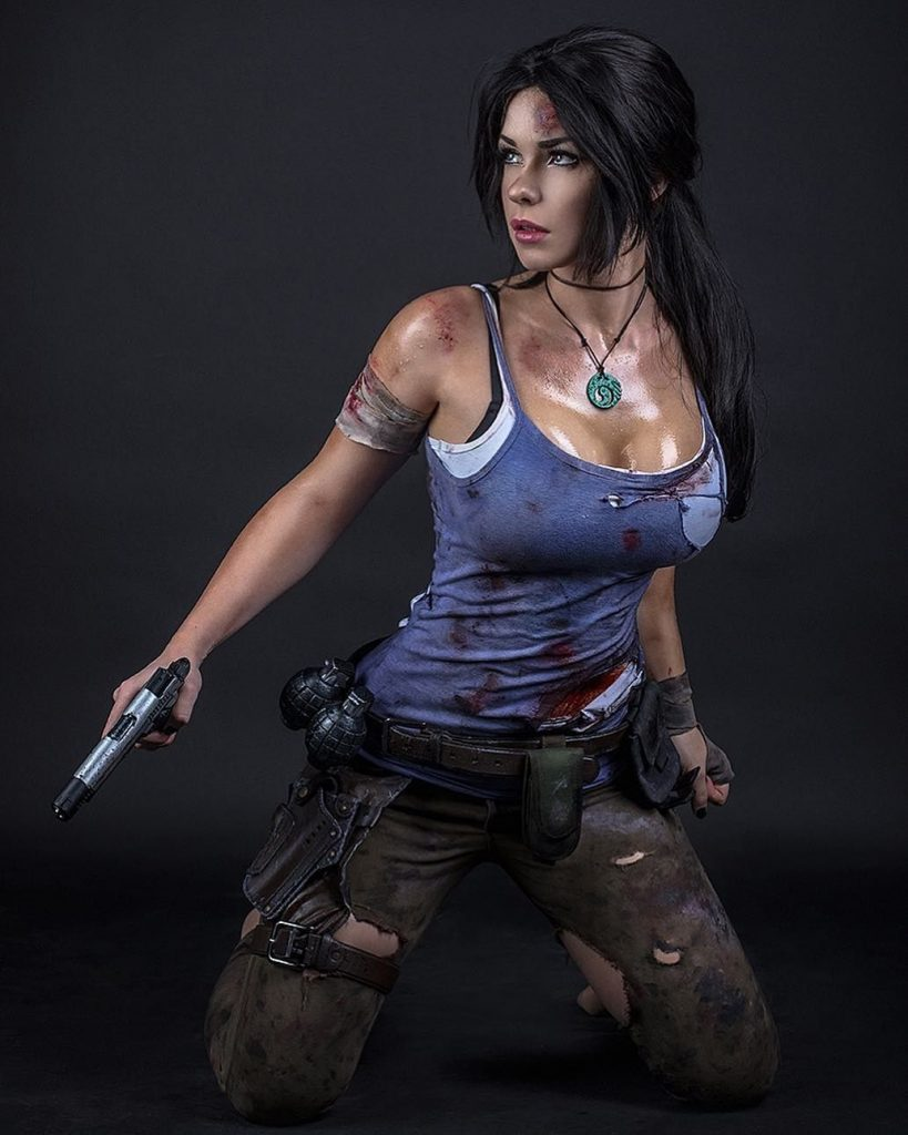 cosplay lara croft